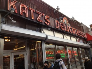KATZ'S DELICATESSEN, 205 East Houston Street (at Ludlow Street), Lower East Side