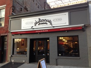 JULIANA'S PIZZA, 19 Old Fulton Street (between Front and Water Street), Dumbo, Brooklyn