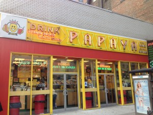 PAPAYA KING, 179 East 86th Street (at Third Avenue), Upper East Side