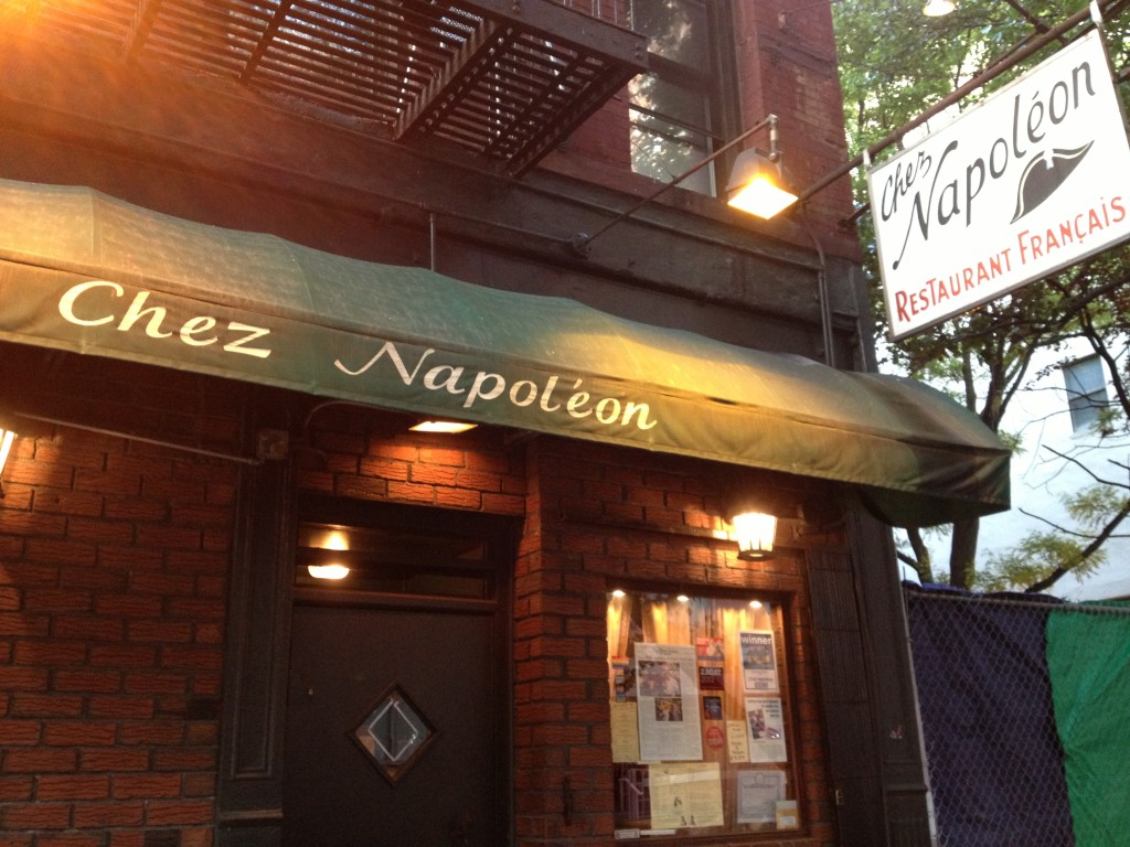 CHEZ NAPOLÉON, 365 West 50th Street (between Eighth and Ninth Avenue), Hell's Kitchen