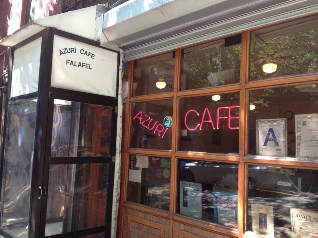 AZURI CAFE, 465 West 51st Street (between Ninth and Tenth Avenue), Hell's Kitchen