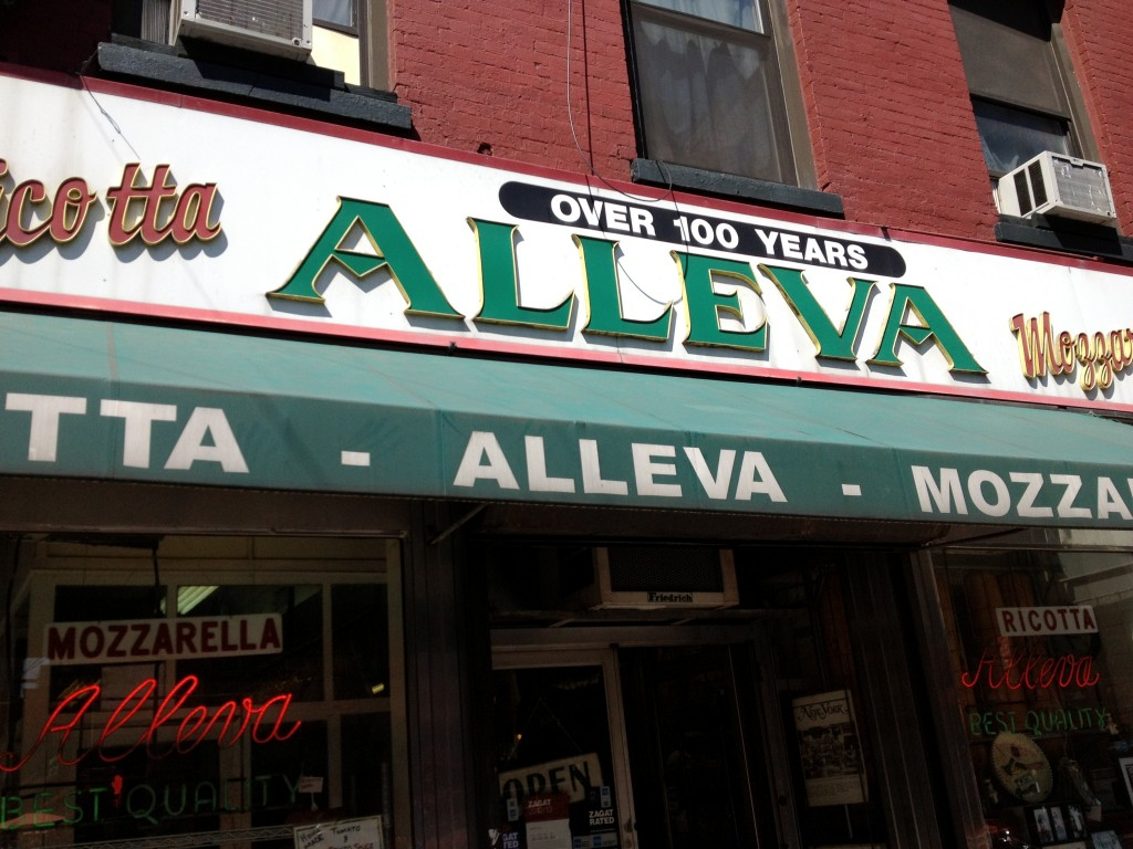 ALLEVA, 188 Grand Street (at Mulberry Street), Little Italy