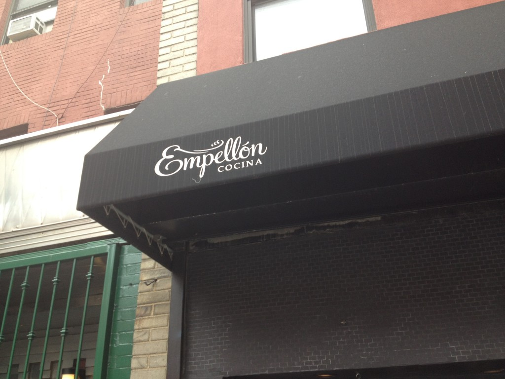 EMPELLÓN COCINA, 105 First Avenue (between East 5th and East 6th Street), East Village