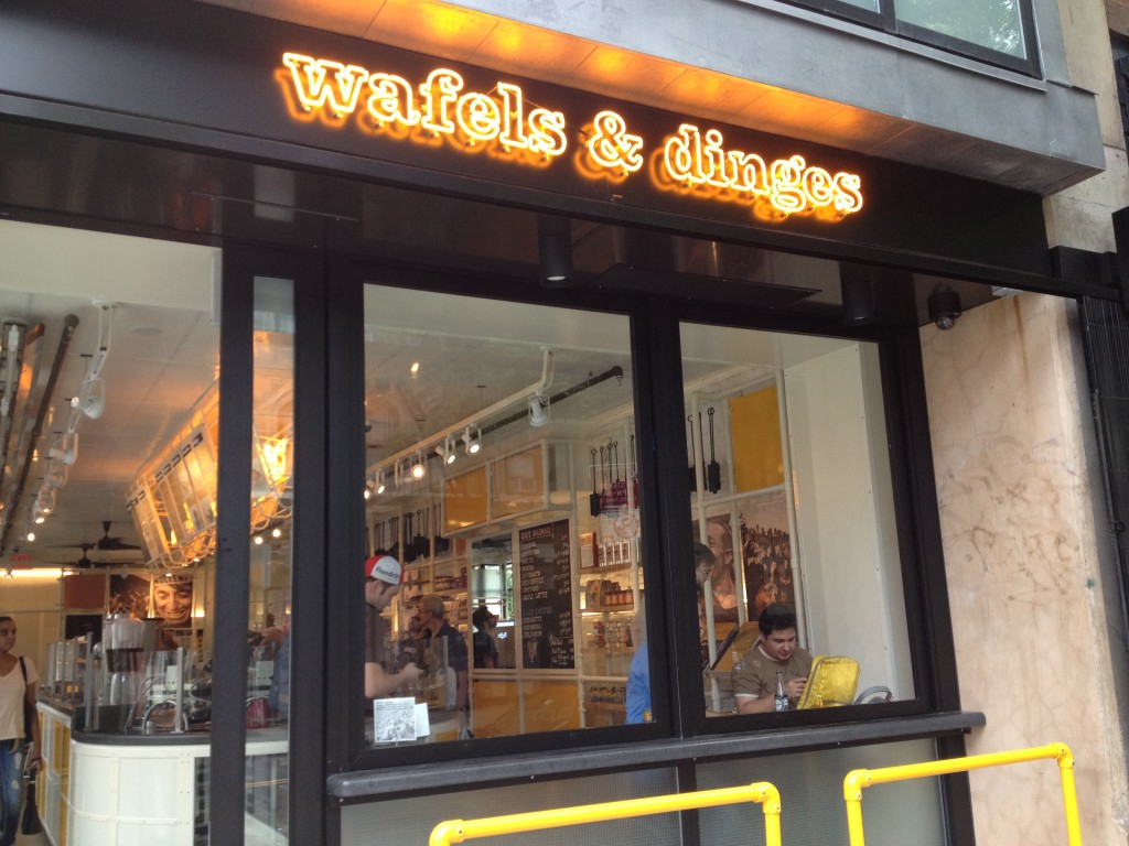 WAFELS & DINGES, 15 Avenue B (at East 2nd Street), East Village