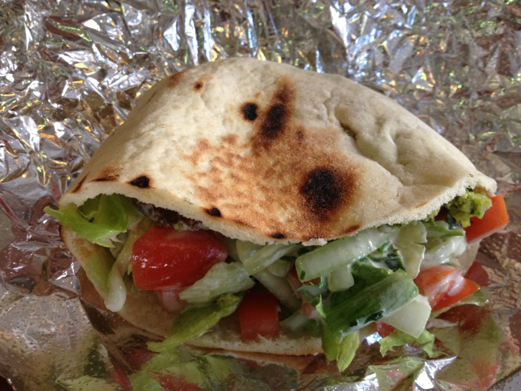 Falafel Sandwich at MAMOUN'S