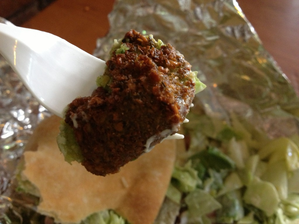 Falafel at MAMOUN'S