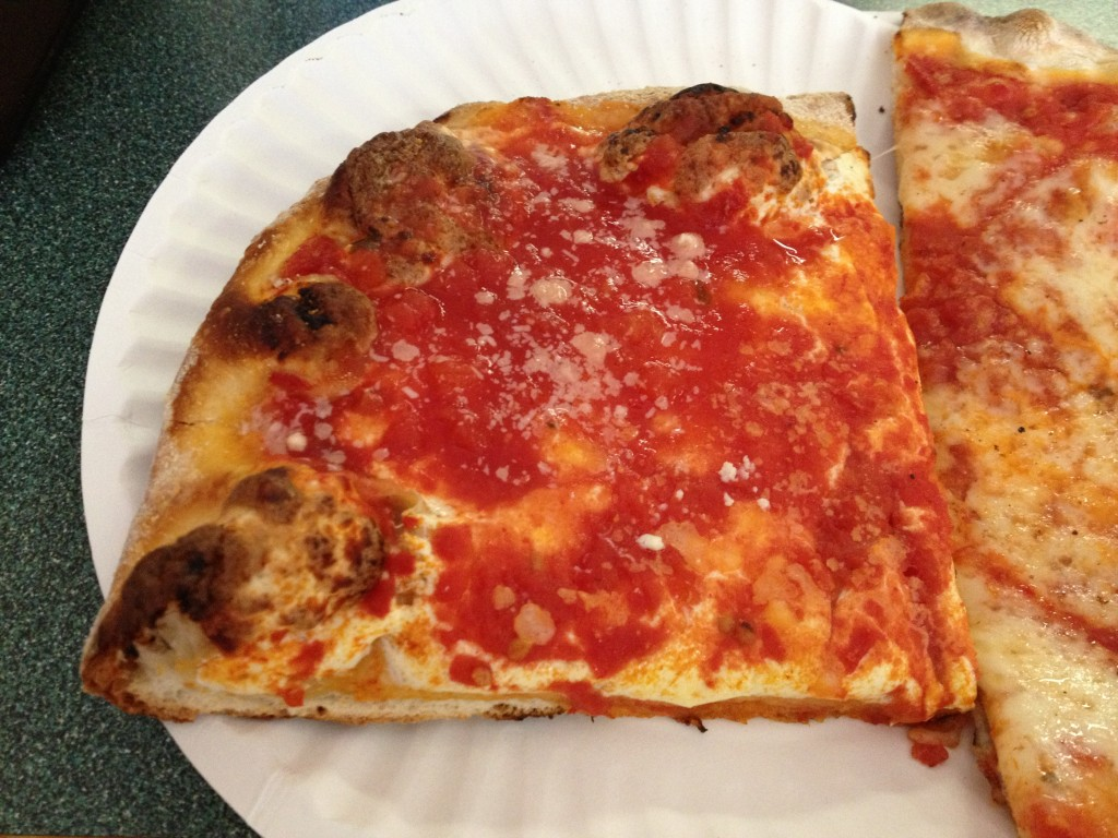 Sicilian Slice at JOE & PAT'S