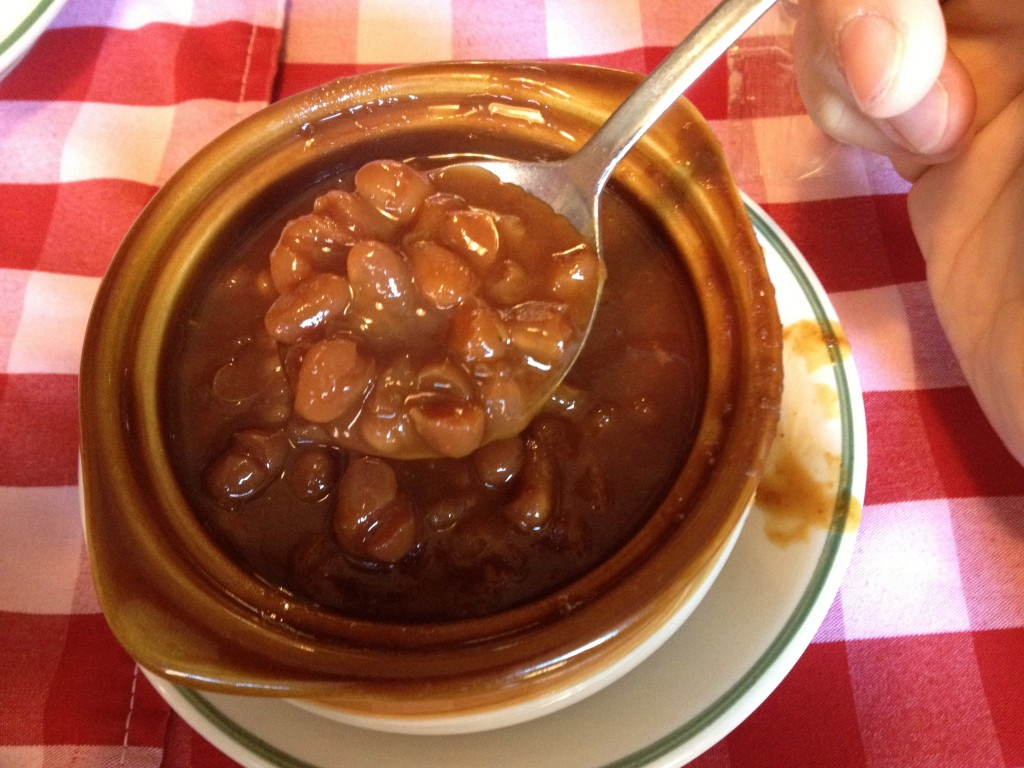 Baked Beans at DURGIN PARK