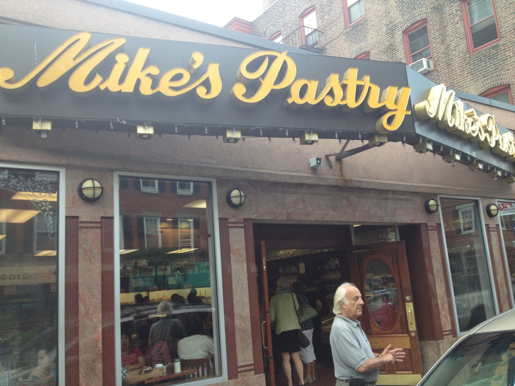 MIKE'S PASTRY, 300 Hanover Street (between Prince Street and Richmond Street), North End, Boston