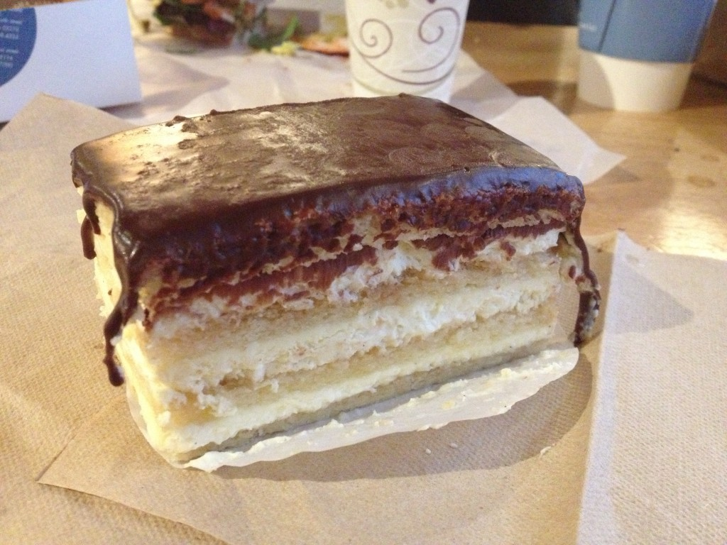 Boston Cream Pie at FLOUR BAKERY