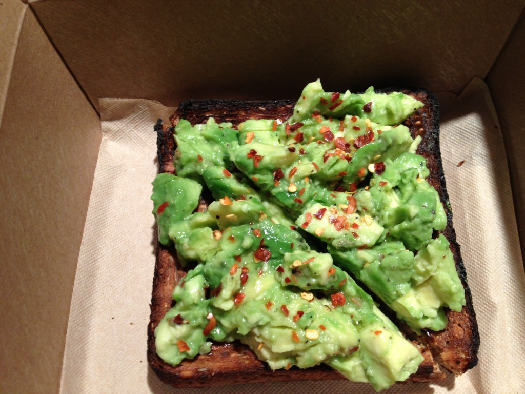 Avocado Smash at BLUESTONE LANE COFFEE