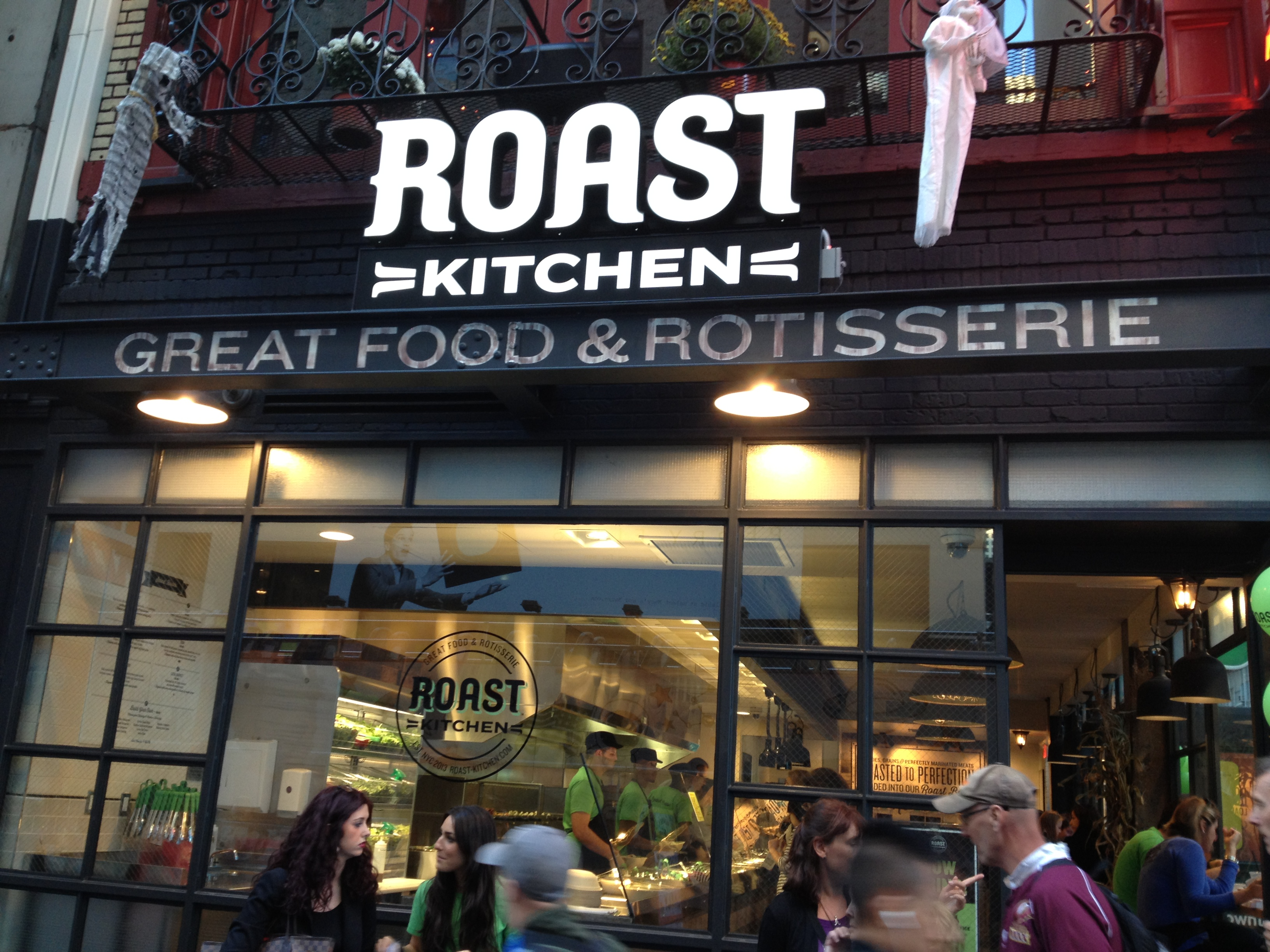Roast Kitchen A Place for Meat or Salad