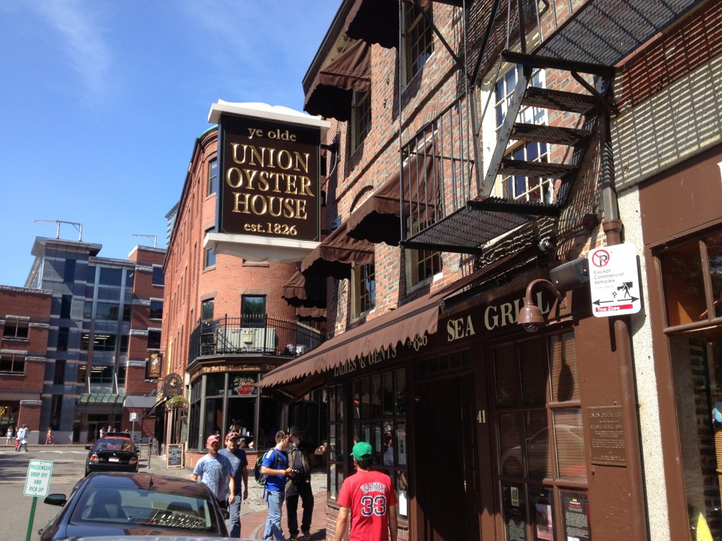 UNION OYSTER HOUSE, 41 Union Street (at Marshall Street), Government Center, Boston