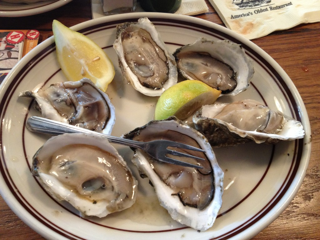 Oysters at UNION OYSTER HOUSE