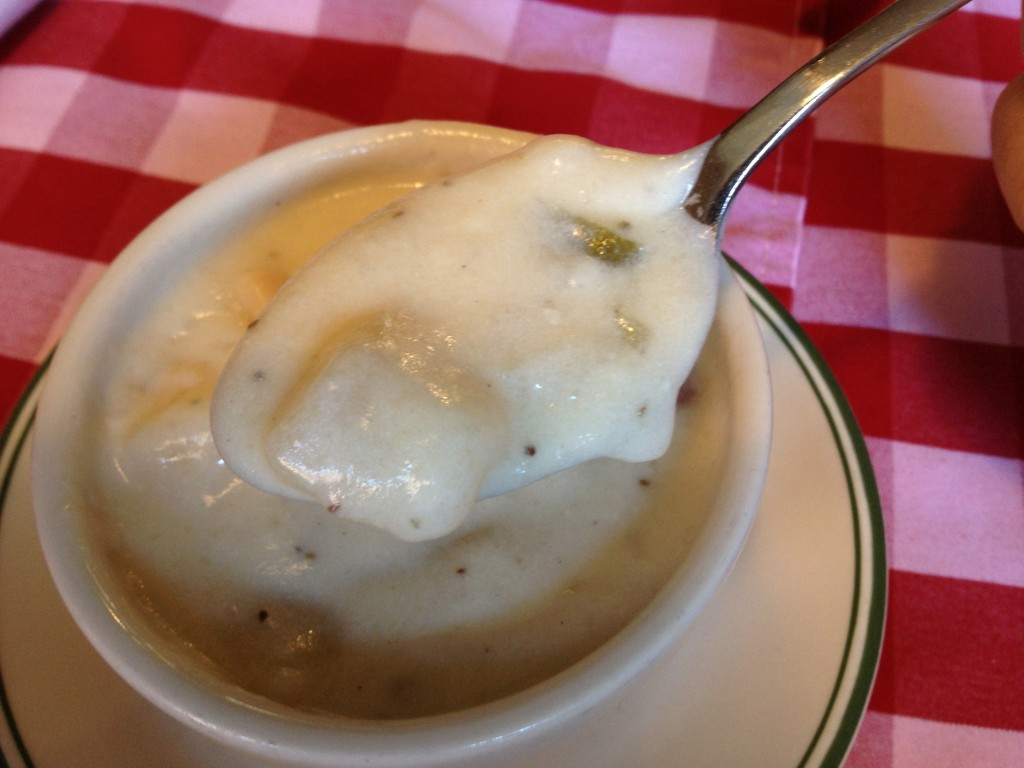 Clam Chowder at DURGIN PARK