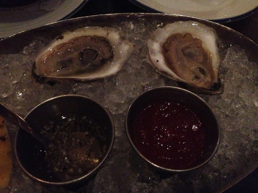 Oysters at ISLAND CREEK OYSTERS
