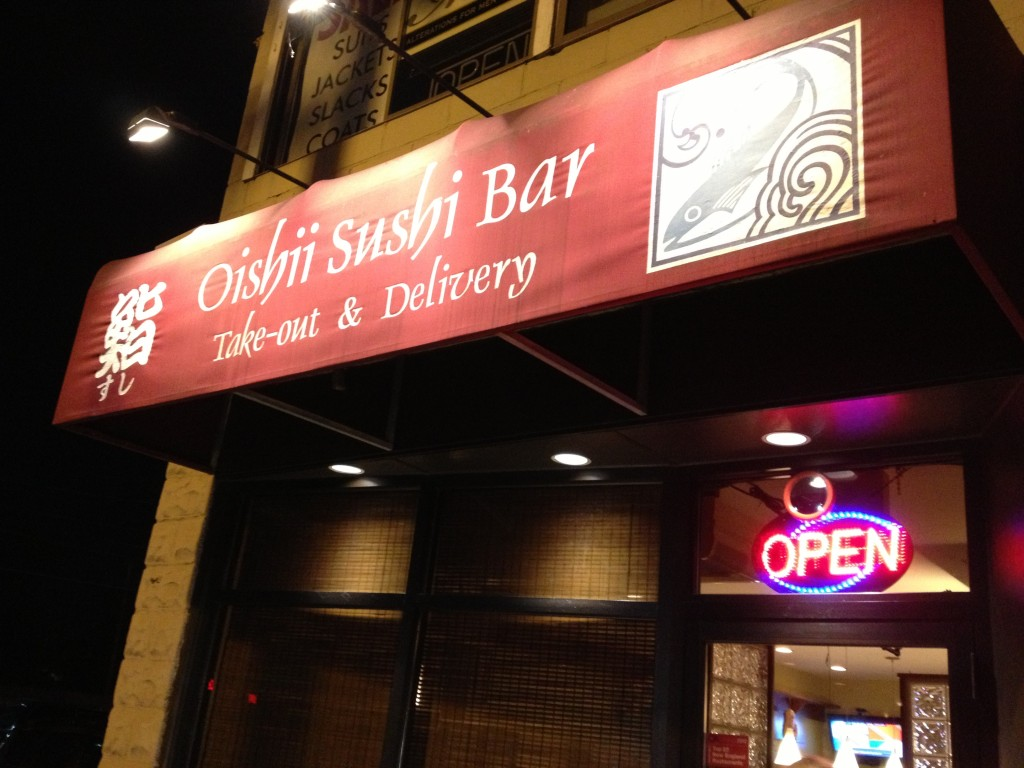 OISHII SUSHI BAR, 612 Hammon Street (between Boylston and Heath Street), Chestnut Hill