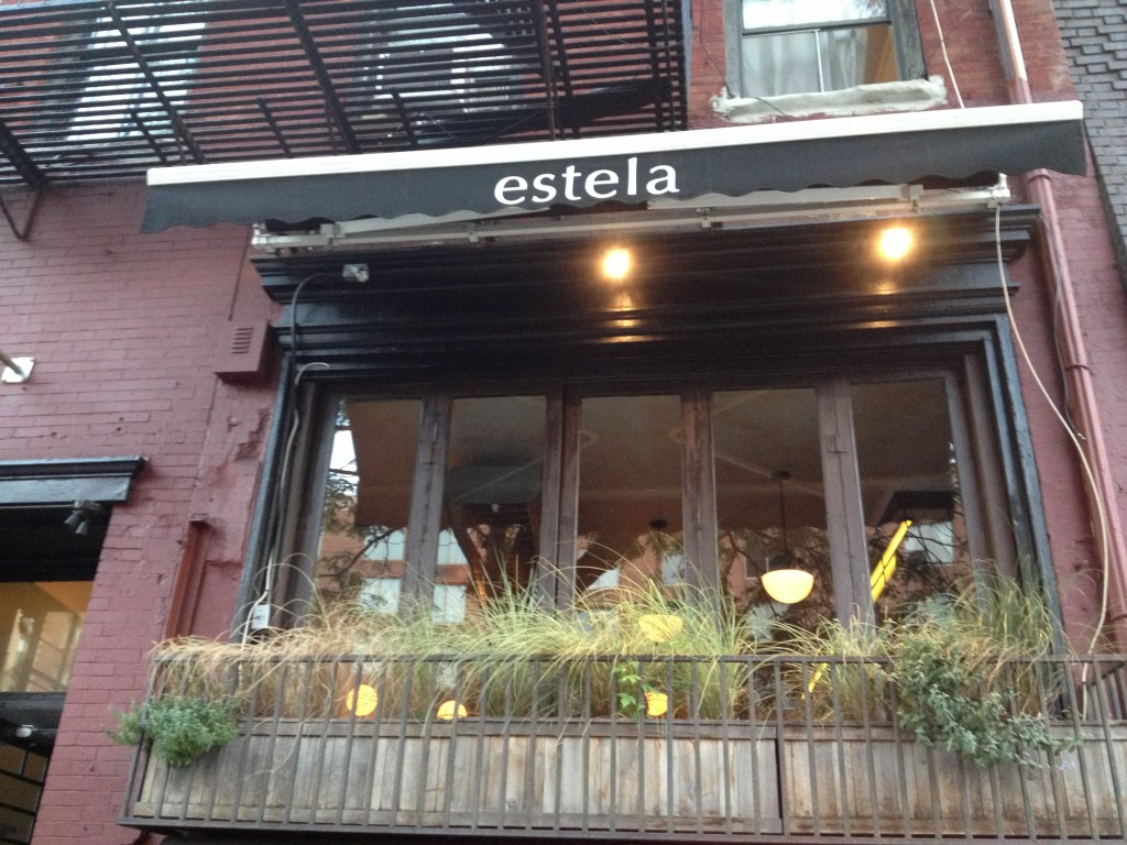 ESTELA, 47 East Houston Street (between Mulberry and Mott Street), Nolita