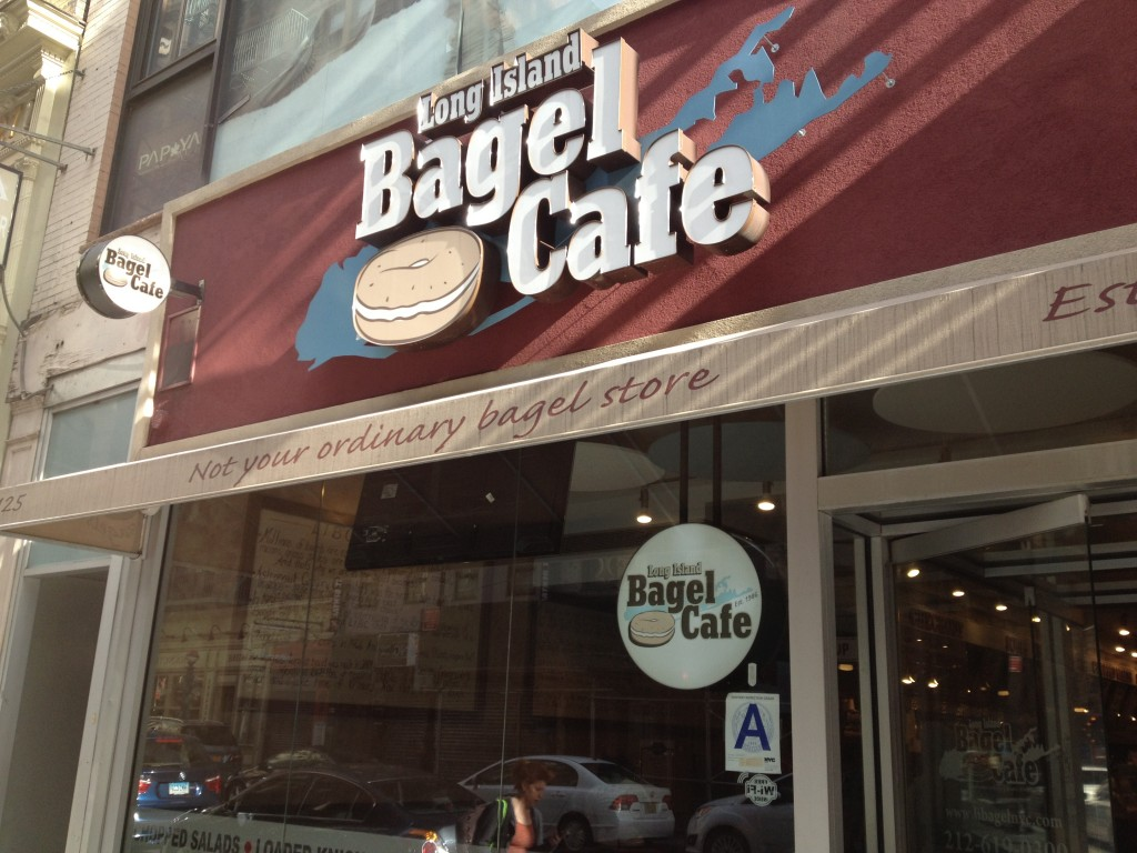 LONG ISLAND BAGEL CAFE, 125 Fulton Street (between Nassau and Warren Street), Financial District