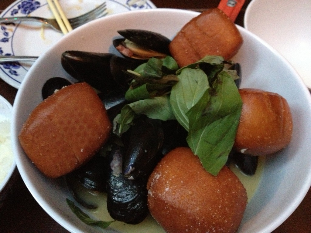 Mussels at PIG AND KHAO