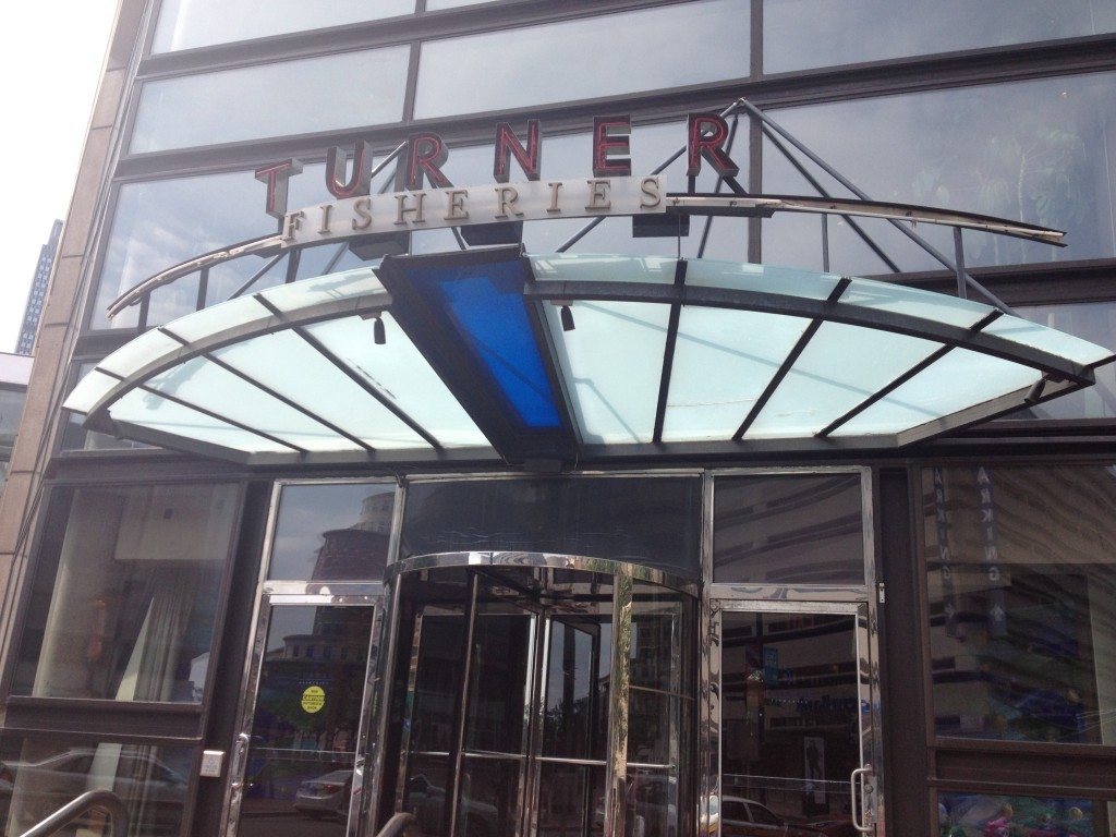 TURNER FISHERIES, 10 Huntington Avenue (at Dartmouth Street), Inside the Westin Copley Place