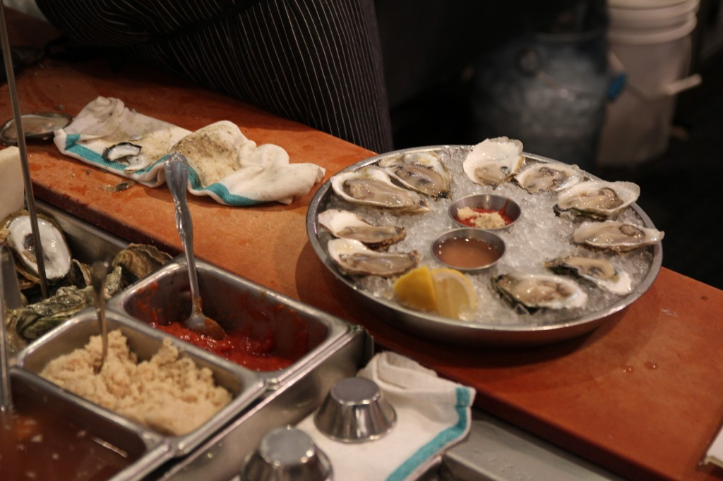 Oysters at B&G OYSTER
