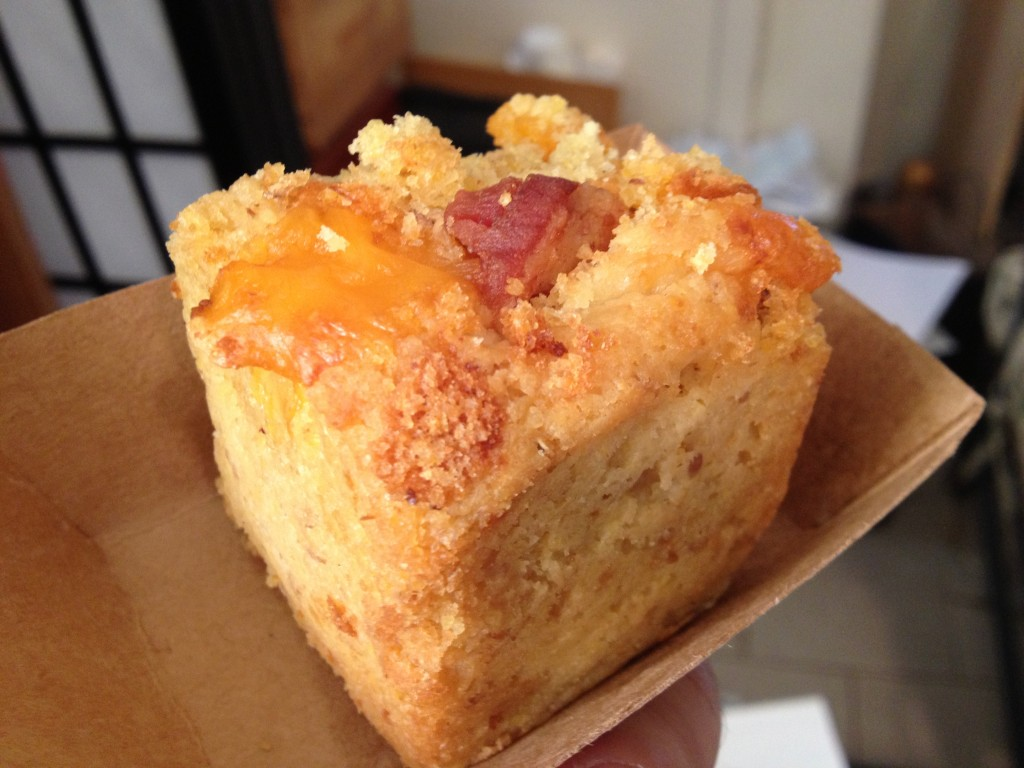 Maple Bacon Cornbread from JACK;'S CHEDBREAD