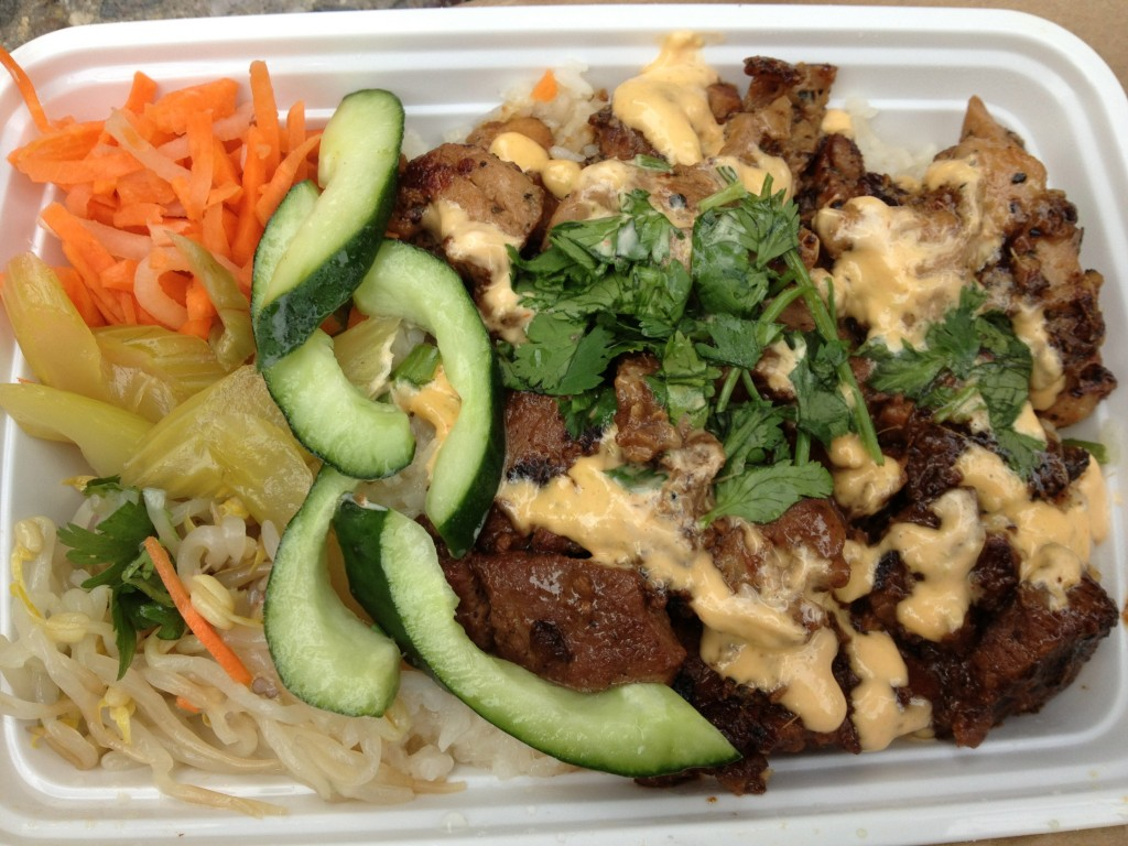 Five Spice Pork at MOO SHU GRILL