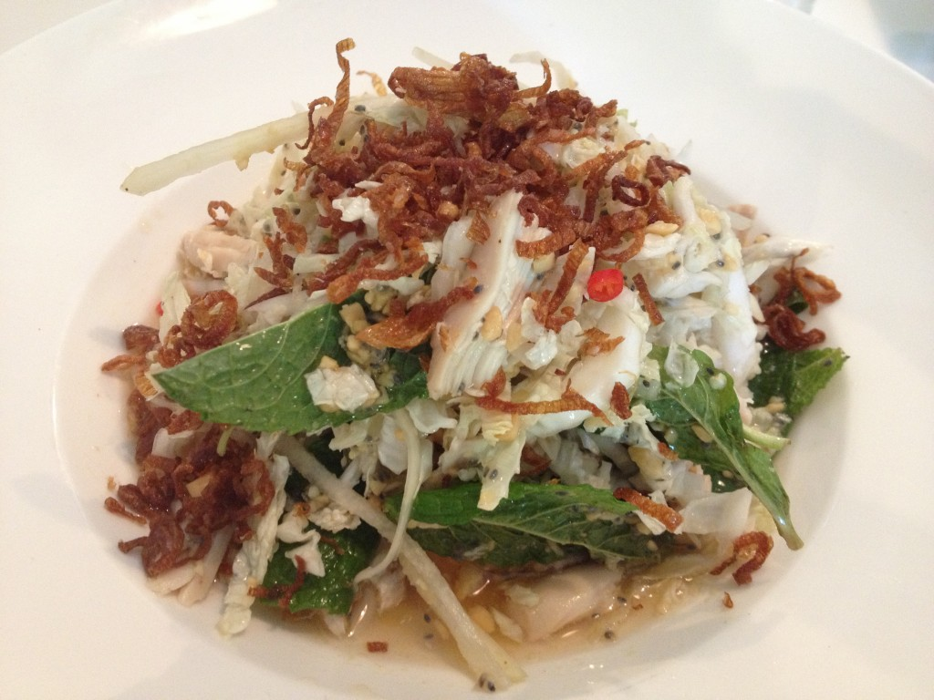 Hudson Valley Shredded Chicken Salad at NIGHTINGALE 9