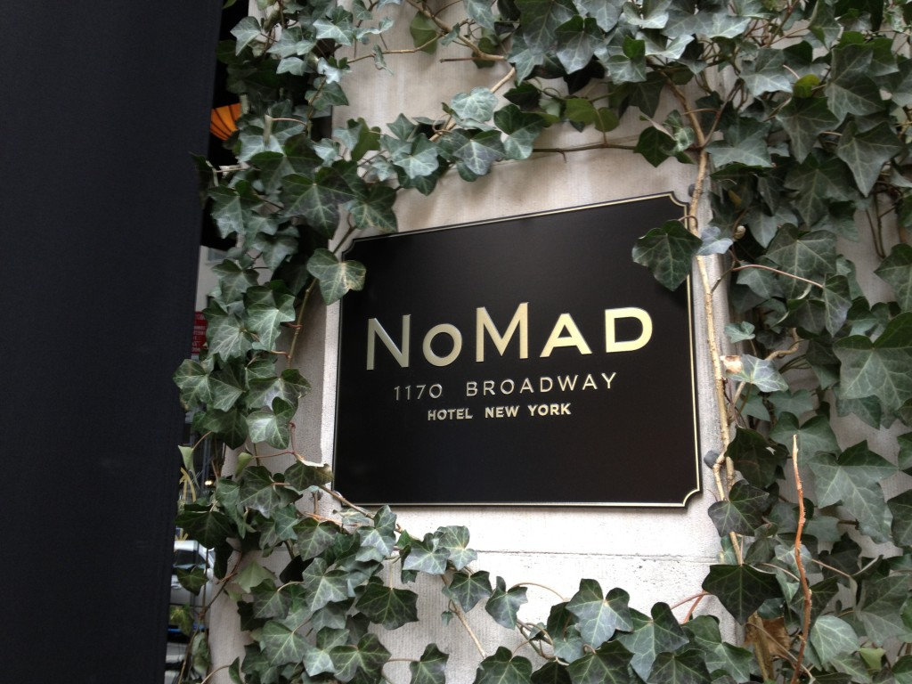 THE NOMAD, 1170 Broadway (between 27th and 28th Street), Flatiron District