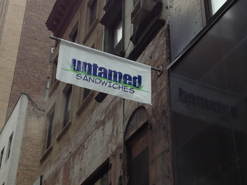 UNTAMED SANDWICHES, 43 West 39th Street (between Sixth and Fifth Avenue), Midtown West