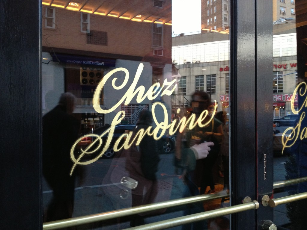CHEZ SARDINE, 183 West 10th Street (between West 4th Street and Seventh Avenue South), West Village