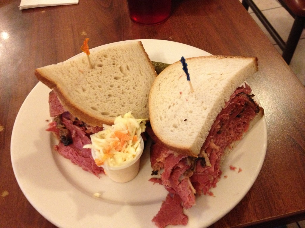 Corned Beef/Pastrami Sandwich at CAFE EDISON
