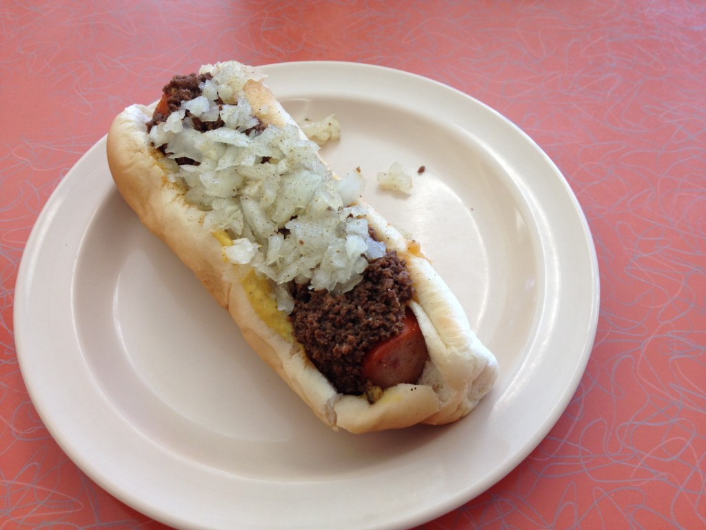New York System Hot Wiener at OLNEYVILLE NEW YORK SYSTEM