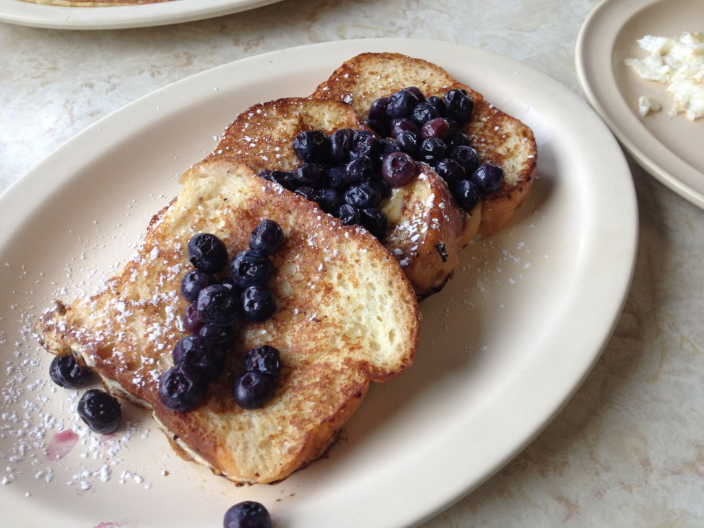 Portuguese French Toast at BISHOP'S 4TH STREET DINER