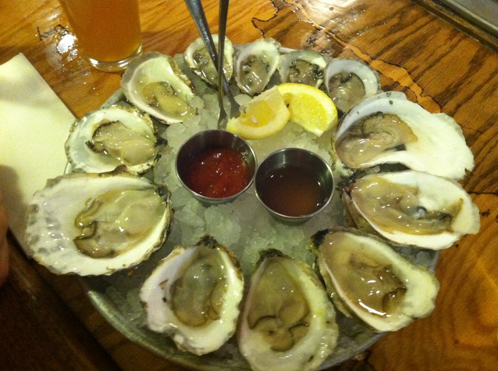 Local Oysters at MATUNUCK OYSTERS