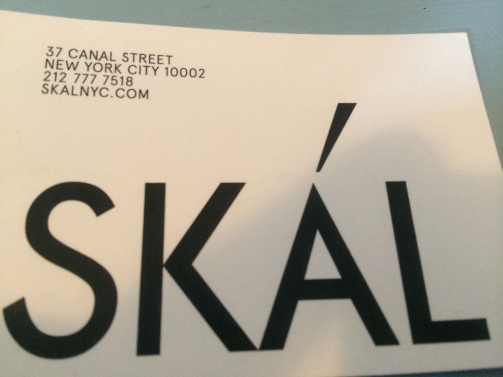 SKÁL, 37 Canal Street (at Ludlow Street), Lower East Side