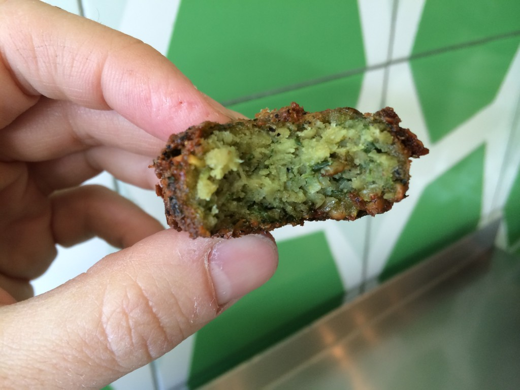 Dry Falafel at MAOZ