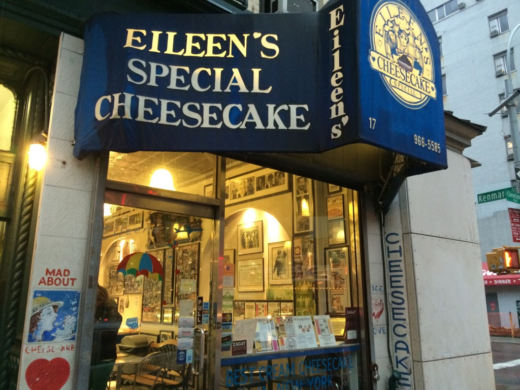 EILEEN'S SPECIAL CHEESECAKE, 17 Cleveland Place (at Kenmare Street), Soho