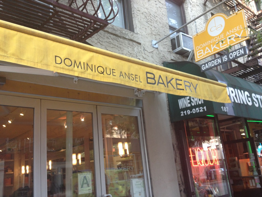DOMINIQUE ANSEL BAKERY, 189 Spring Street (between Sullivan Street and Thompson Street), Soho