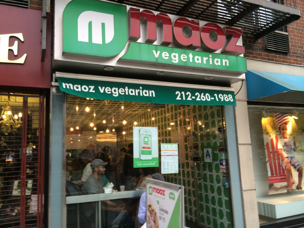 MAOZ VEGETARIAN, 38 Union Square East (between East 16th and East 17th Street), Union Square