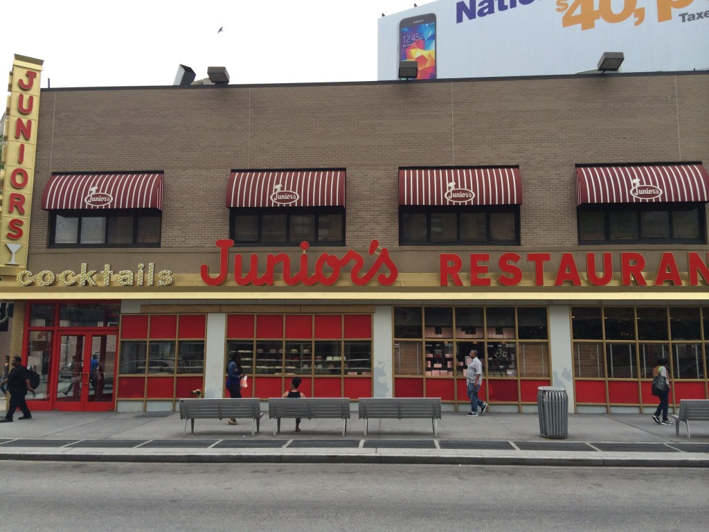 JUNIOR'S, 386 Flatbush Avenue Extension (at Dekalb Avenue), Downtown Brooklyn