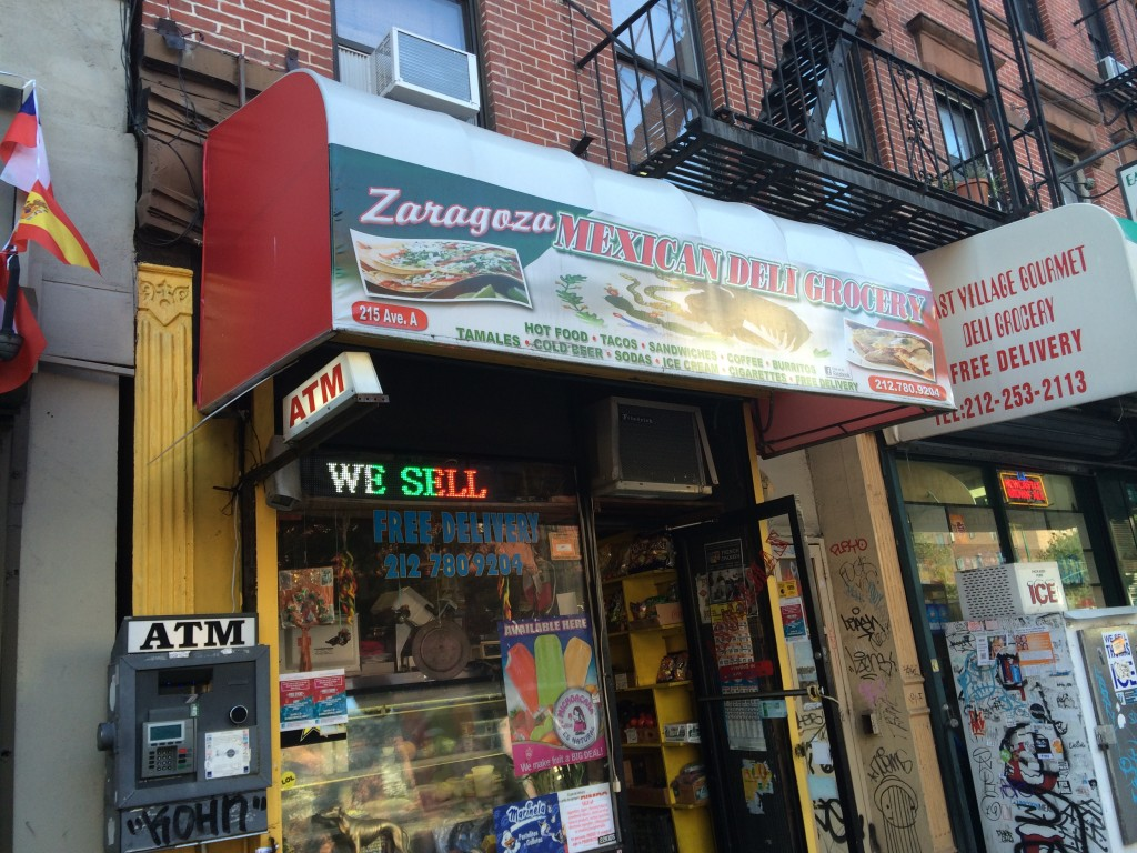 ZARAGOZA MEXICAN DELI & GROCERY, 215 Avenue A (between East 13th and 14th Street), East Village