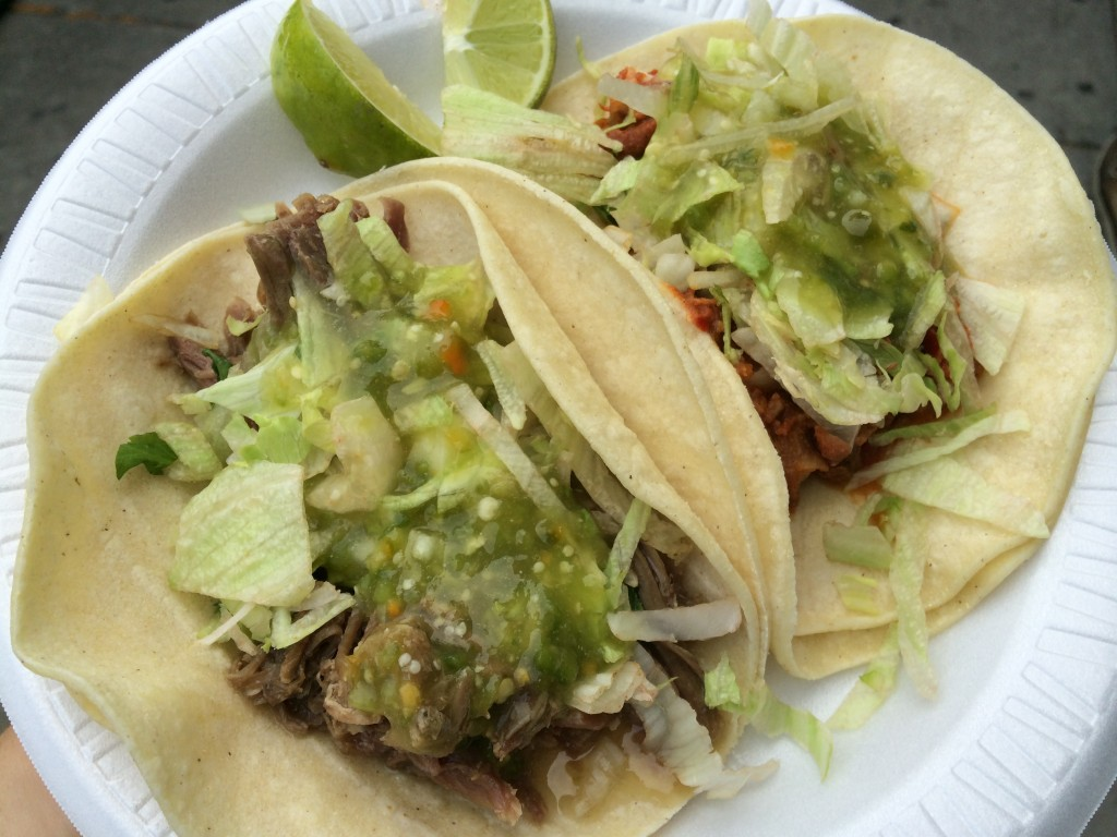 Goat Tacos at ZARAGOZA MEXICAN DELI & GROCERY