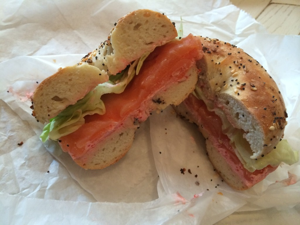 Specialty Sandwich at BLACK SEED BAGELS