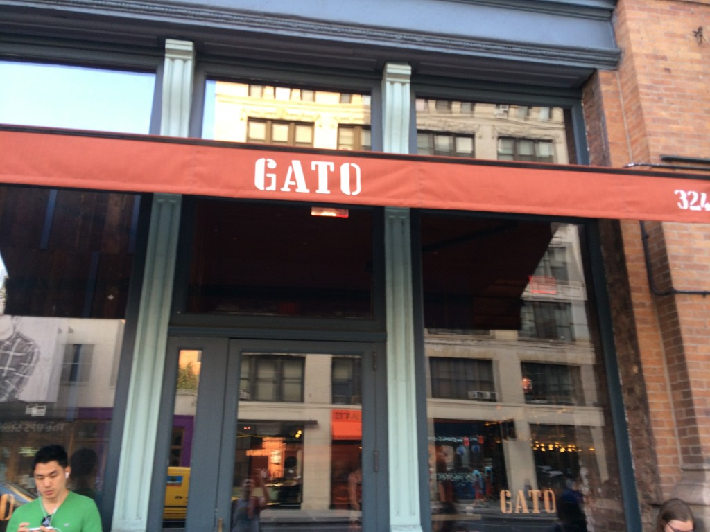 GATO, 324 Lafayette (between Bleecker Street and East Houston Street), Noho