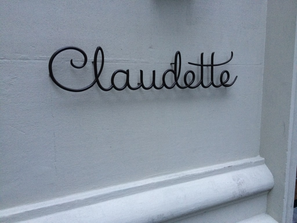 CLAUDETTE, 24 Fifth Avenue (at 8th Street), Greenwich Village