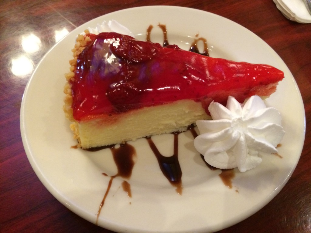 Strawberry Cheesecake at MONA LISA BAKERY