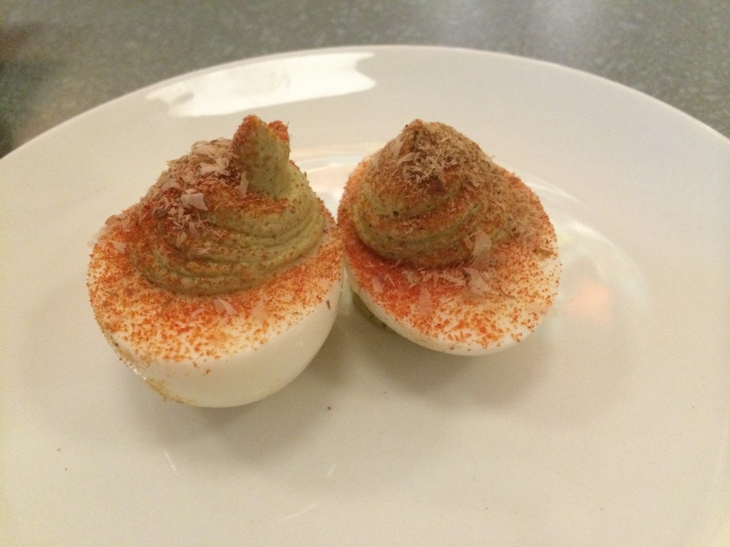 1,000 Year Old Deviled Egg at IVAN RAMEN