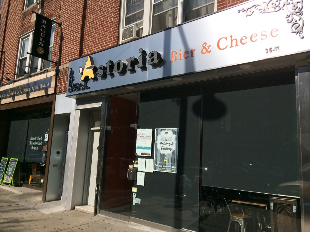 ASTORIA BIER & CHEESE, 35-11 Ditmars Boulevard (between 35th and 36th Street), Astoria, Queens
